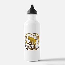 Year of The Monkey Water Bottle