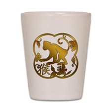 Year of The Monkey Shot Glass