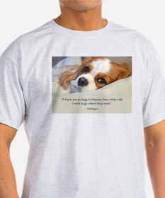 Cute Cavalier king charles spaniel art T-Shirt