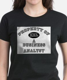Property of a Business Analyst Tee