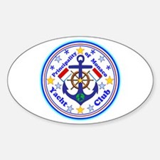 Monaco Yacht Club Decal