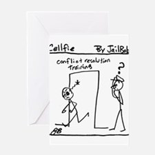 'Cellfie' - Conflict resolution training Greeting