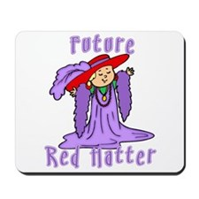 Future Red Hatter Mousepad
