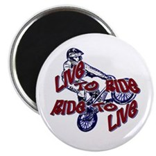 Live to Ride Magnet