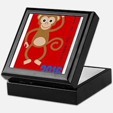 Year of the Monkey 2016 Keepsake Box