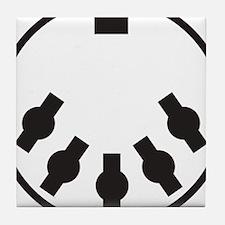 Cute Electronica Tile Coaster