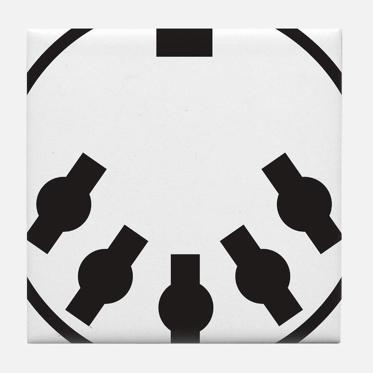 Cute Midi Tile Coaster