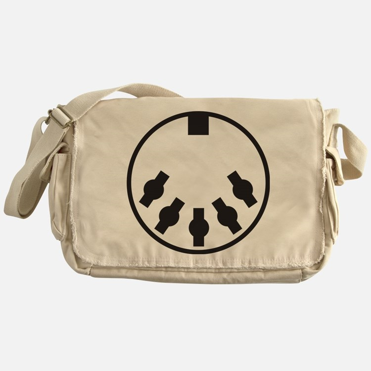 Cute Midi Messenger Bag