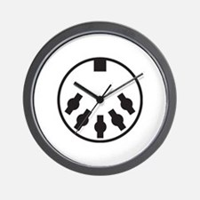 Unique Synth Wall Clock