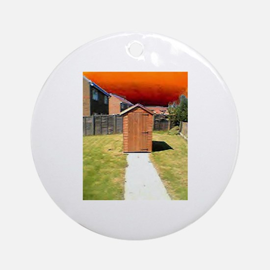 Shed 2 Round Ornament