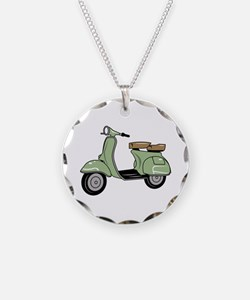 Motor Scooter Necklace