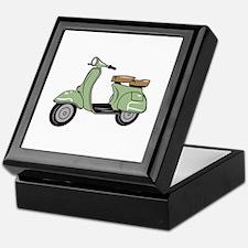Motor Scooter Keepsake Box