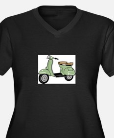 Motor Scooter Plus Size T-Shirt