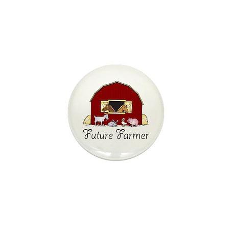 Future Farmer Barnyard Mini Button (10 pack)