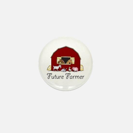 Future Farmer Barnyard Mini Button