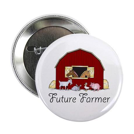 Future Farmer Barnyard Button
