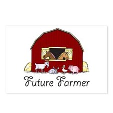 Future Farmer Barnyard Postcards (Package of 8)