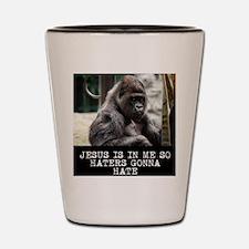 Unique Jesus monkey Shot Glass