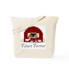 Future Farmer Barnyard Tote Bag
