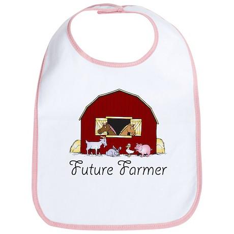 Future Farmer Barnyard Bib