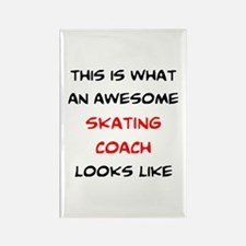 awesome skating coach Rectangle Magnet