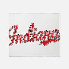Indiana Vintage Throw Blanket