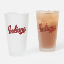 Indiana Vintage Drinking Glass