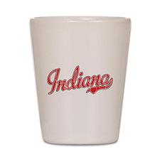 Indiana Vintage Shot Glass