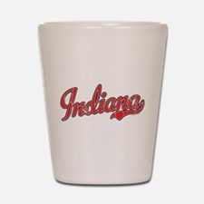 Indiana Vintage Shot Glass