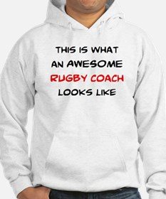 awesome rugby coach Hoodie