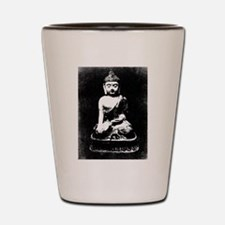 Silver Buddha Shot Glass