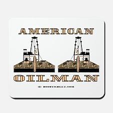 American Oilman Mousepad