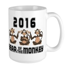 2016 Funny Year of The Monkey Mug