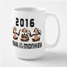 2016 Funny Year of The Monkey Mug