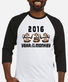 2016 Funny Year of The Monkey Baseball Jersey