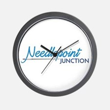 Needlepoint Juntion Wall Clock