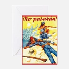 They Shall Not Pass! Greeting Card