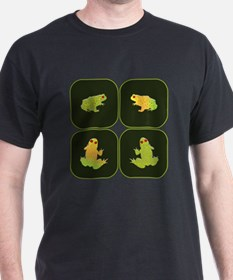 Four frogs T-Shirt