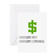 Cash Blessings Greeting Cards