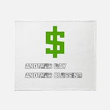Cash Blessings Throw Blanket