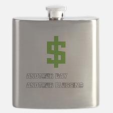 Cash Blessings Flask