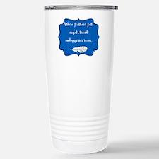 WHERE FEATHERS FALL... Travel Mug