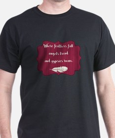WHERE FEATHERS FALL... T-Shirt