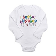 Unique Boston terrier happy new year Long Sleeve Infant Bodysuit