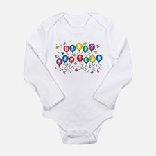 Cute New years day Long Sleeve Infant Bodysuit