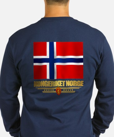 Flag Of Norway Long Sleeve T-Shirt