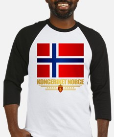 Flag of Norway Baseball Jersey