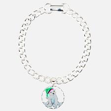 Cute Polar Bear Design b Bracelet