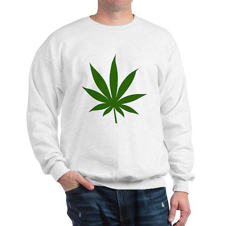 Marijuana Leaf Sweatshirt