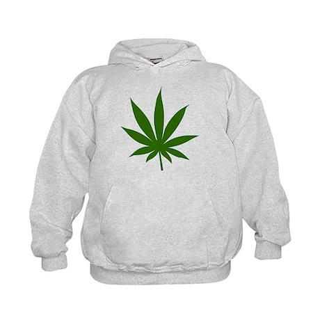 Marijuana Leaf Kids Hoodie